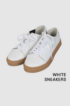 White-스니커즈[size:230~250 / 1color]