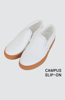 Campus-슬립온슈즈[size:225~250 / 1color]
