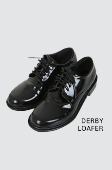 Derby-로퍼[size:225~250 / 1color]