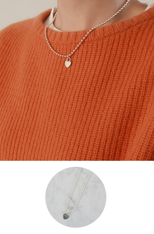 Zem silver No.5 (necklace)