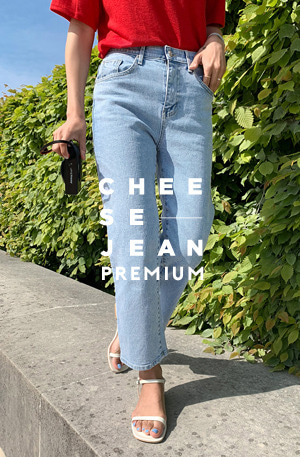 Cheese Premium Jean (ver.미디움핏)[size:S~XL / 1color]