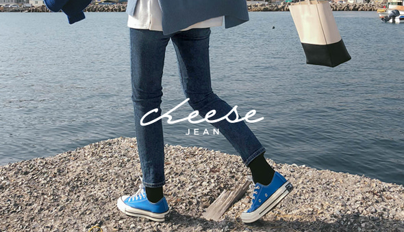 Cheese Jean (ver.쉐이딩슬림배기/기모)[size:S,M,L,XL / 1color]